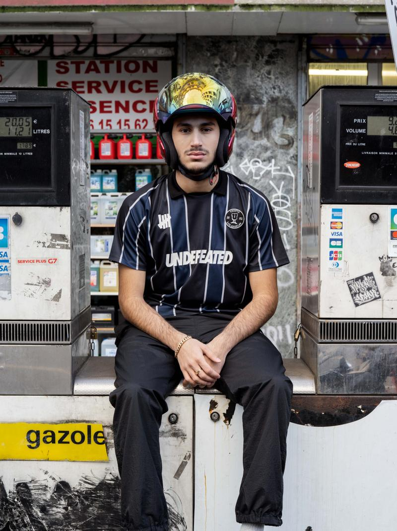 UNDEFEATED Spring 2020 Lookbook la brea james bond clothes summer editorial eddie cruz accessories five strike logo