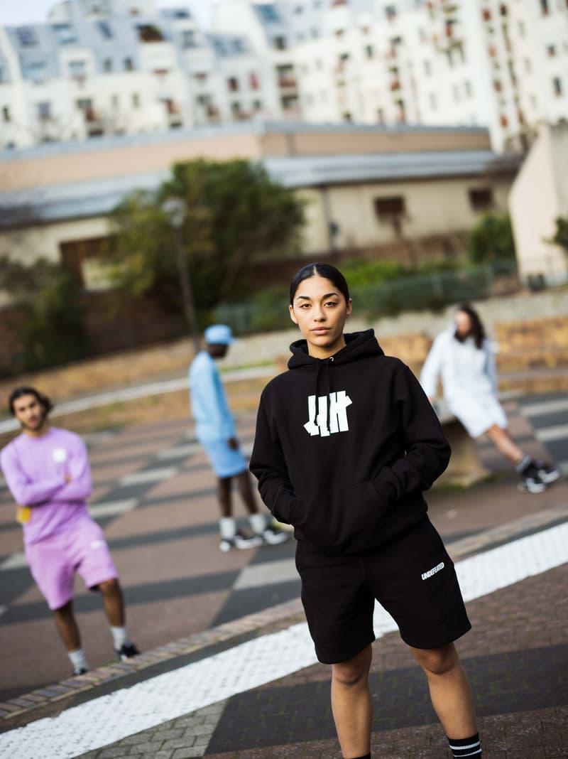 UNDEFEATED Spring 2020 Lookbook la brea james bond clothes summer editorial eddie cruz accessories five strike logo