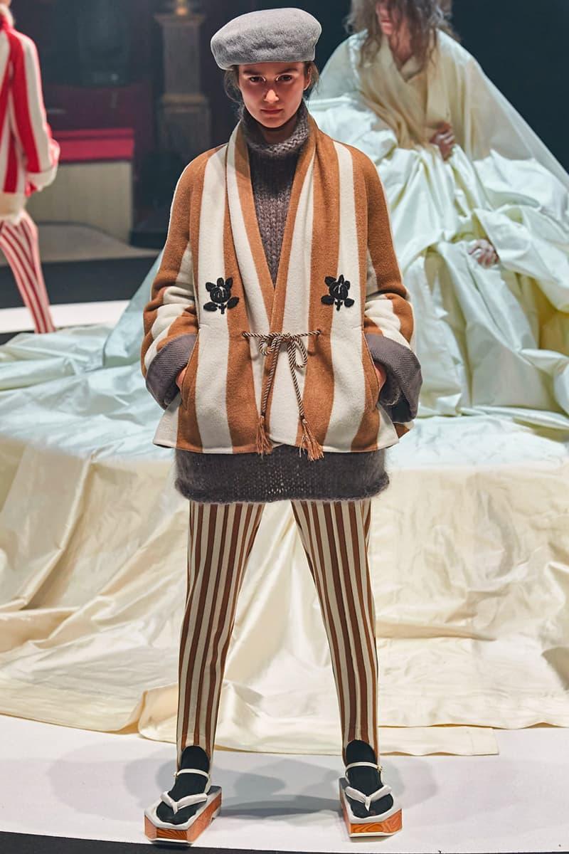 UNDERCOVER Fallen Man Fall Winter 2020 Runway Collection Paris Fashion Week throne of Blood Akira Kurosawa Jun Takahashi Info Release Date Look Image Full