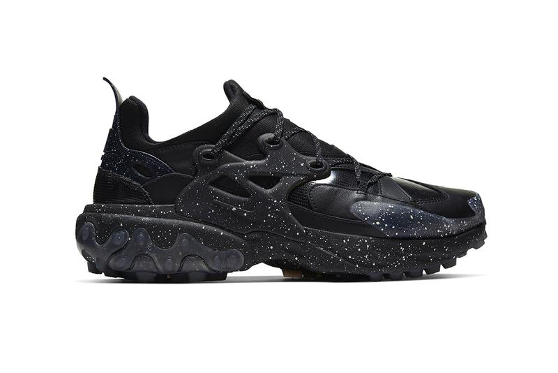 """UNDERCOVER x Nike React Presto First Look Release Information """"Mahogany/White"""" """"White/Black"""" """"Black/White"""" Speckled Details Jun Takahashi SS20 Footwear Sneakers Collaboration Limited Edition Technical Swoosh"""