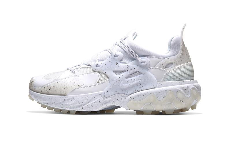 "UNDERCOVER x Nike React Presto First Look Release Information ""Mahogany/White"" ""White/Black"" ""Black/White"" Speckled Details Jun Takahashi SS20 Footwear Sneakers Collaboration Limited Edition Technical Swoosh"