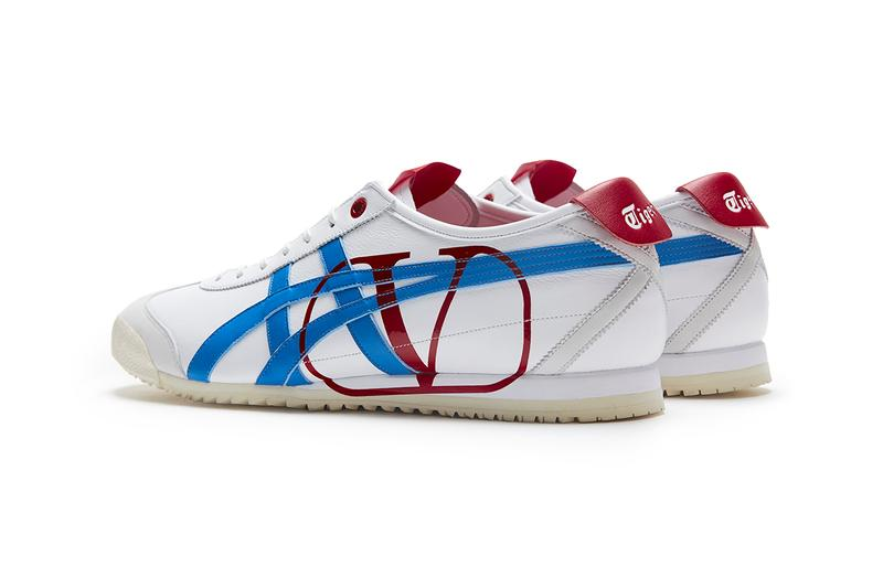 Valentino x Onitsuka Tiger Fall/Winter 2020 Collaboration Sneaker Capsule Collection Closer Look Mexico 66 SD Pierpaolo Piccoli Runway Paris Fashion Week FW20 Japan Italian