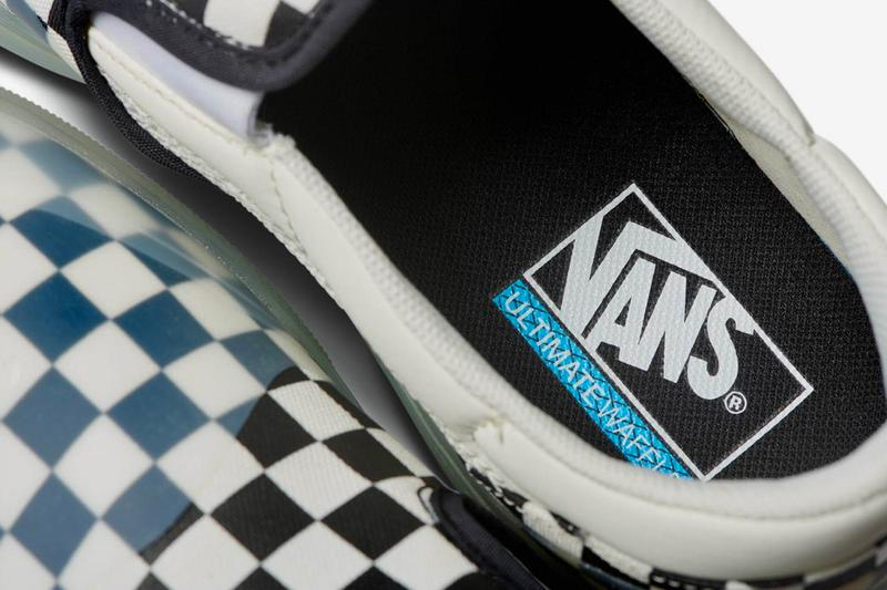 Vans Japan Mod Slip Ons icy RapidWeld UltraCush surfer tokyo UltimateWaffle outsole footwear shoes sneakers kicks runners trainers fall winter 2020 checkerboard ghosting translucent Release Info