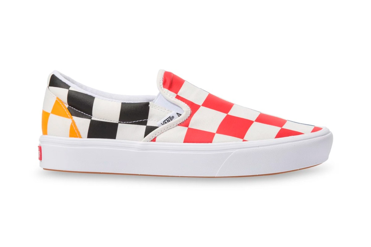 Vans Multi-Color Oversized Checkerboard