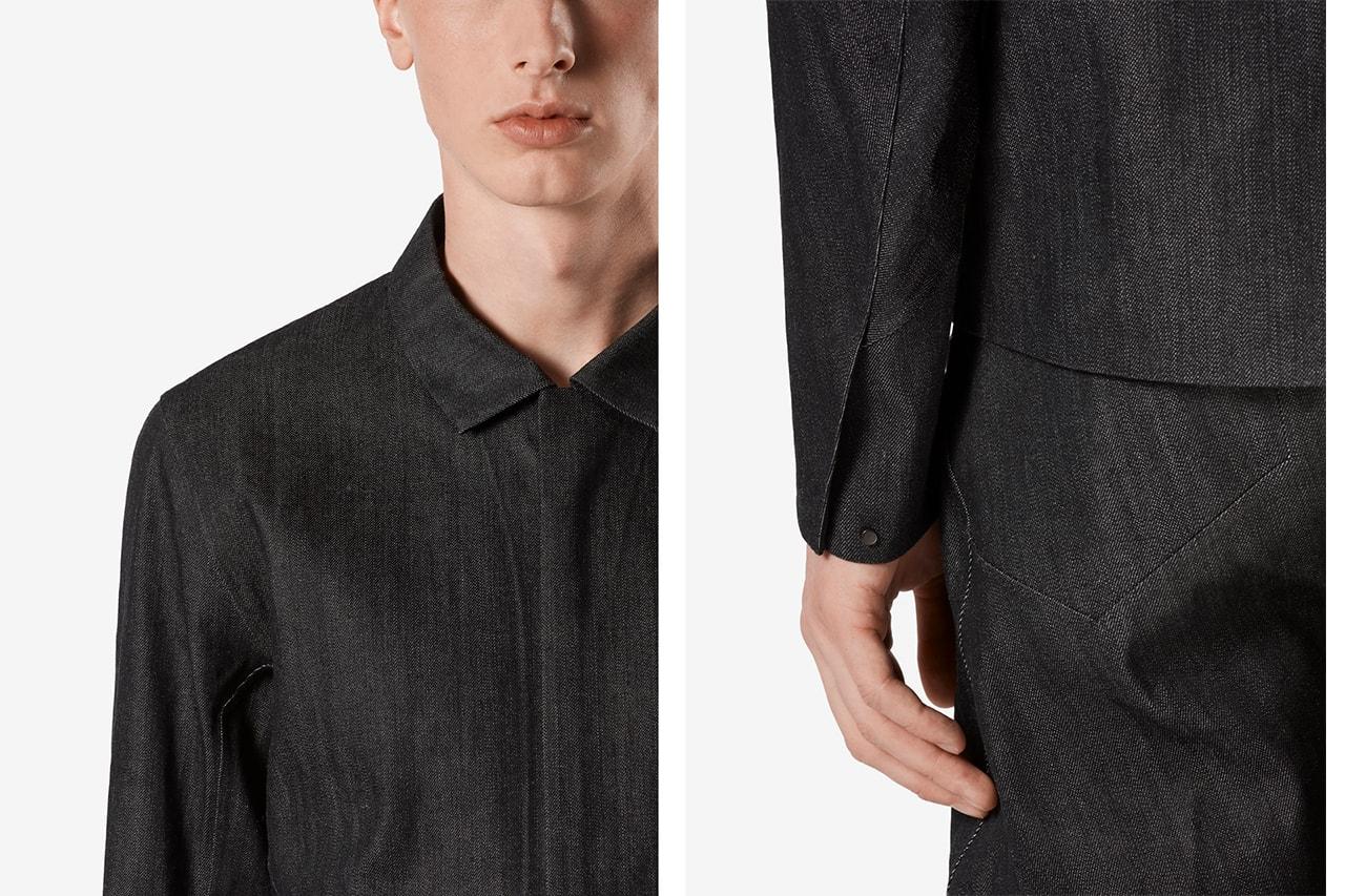 Veilance Cambre Denim Jacket, Pants SS20 Collection spring summer 2020 taka kasuga lead black color