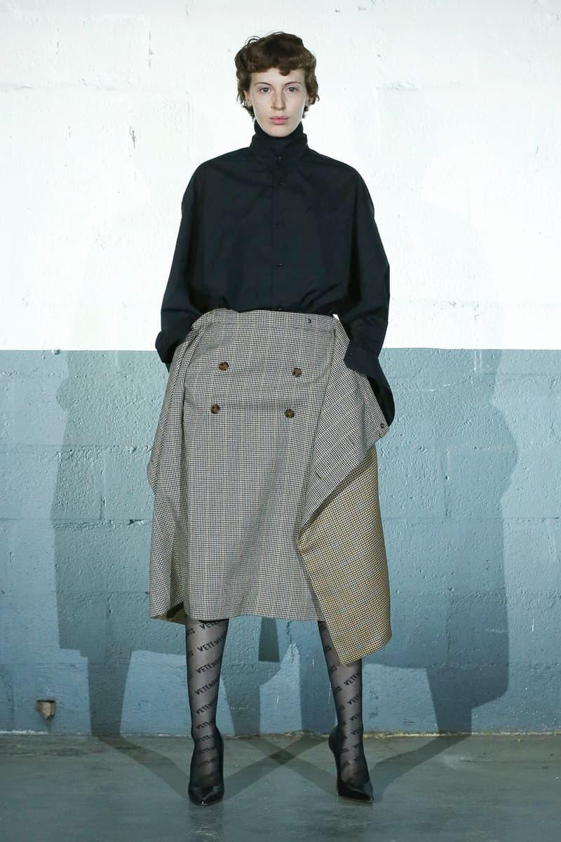 Vetements Fall/Winter 2020 Runway Collection paris fashion week pfw fw20