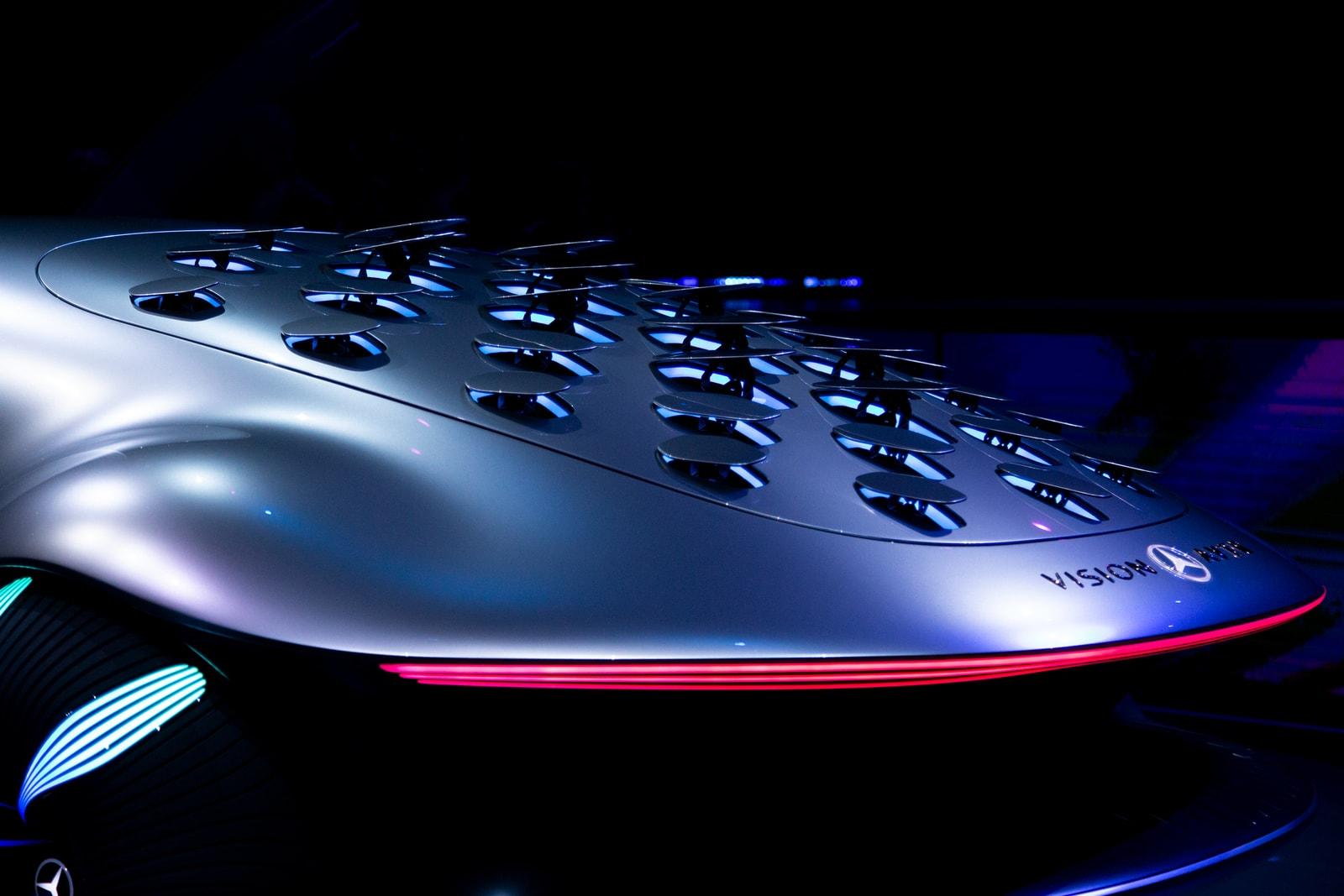 Mercedes-Benz x Avatar Vision AVTR First Look James Cameron Movie