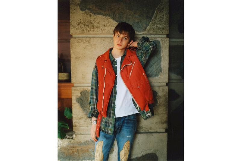 visvim wmv Spring Summer 2020 collection Lookbook hiroki nakamura folkwear japanese americana military inspired mil spec vintage artisanal mud dye overalls denim indigo wool editorial