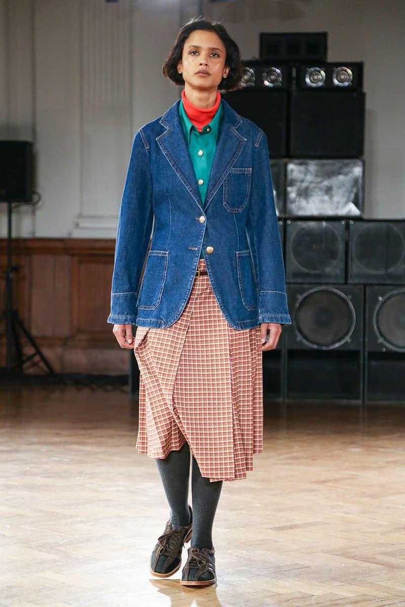 Wales Bonner Fall/Winter 2020 Runway Show London Fashion Week: Men's Collection adidas Originals Collaboration Footwear Closer Look Shots Report Tailoring