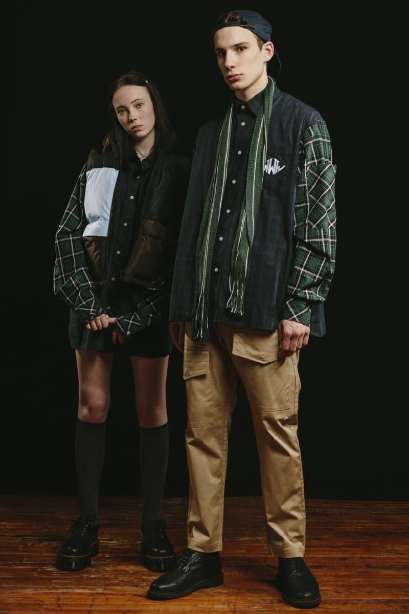 Wonders FW20 Collection Lookbook Davidson Manaloto Cameron Dunn Canada Jackets Plaid school uniforms