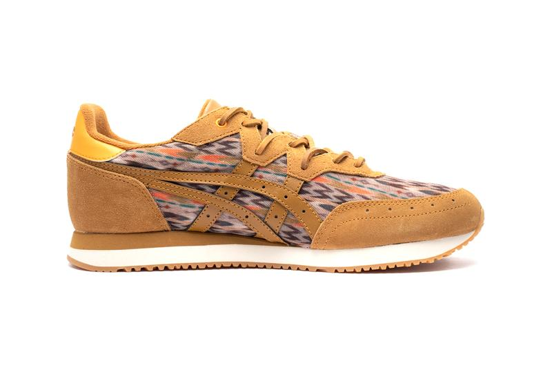 """YMC x ASICS SportStyle Tarther OG """"Blue/Multi"""" """"Caramel"""" Release Information Drop Date First Look Closer Sneaker Footwear Collaboration UK Brand Japanese Suede Leather Textile Aztec"""