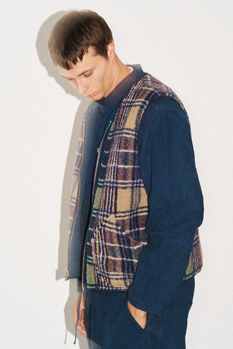 YMC Spring/Summer 2020 Lookbook Collection Menswear Looks London Brand Label Original Rugby Shirt Baseball Mac Camouflage Shirts Overcoats Outerwear Trousers Tops T-Shirts Cop Now Buy Online