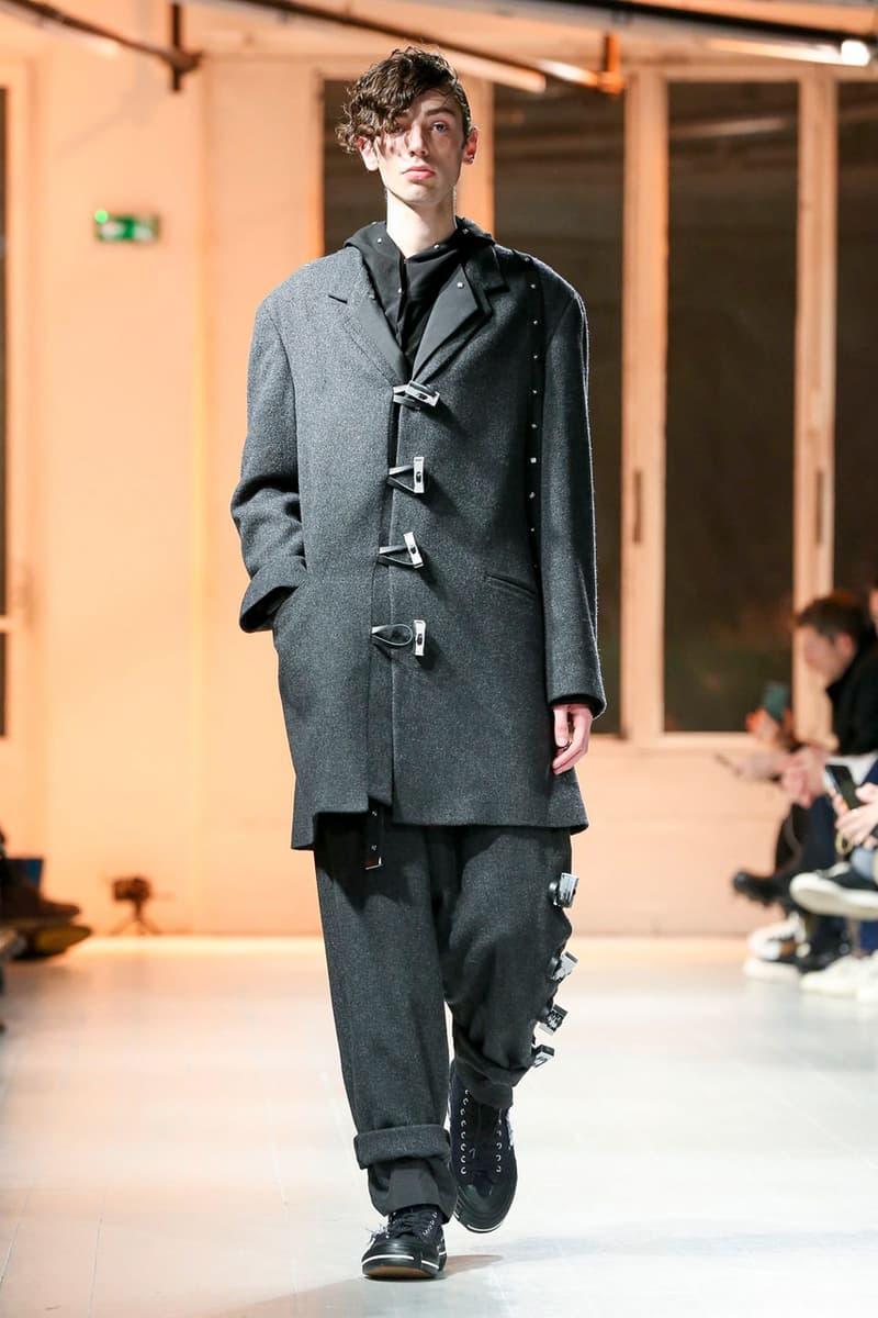 Yohji Yamamoto Fall/Winter 2020 Men's Runway collection paris fashion week pfw fw20 pour homme