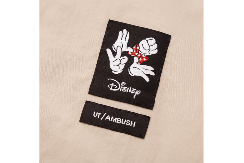 Yoon Teases UNIQLO UT x Disney x AMBUSH Capsule collaborations minnie mouse lookbook release info girls woman's release