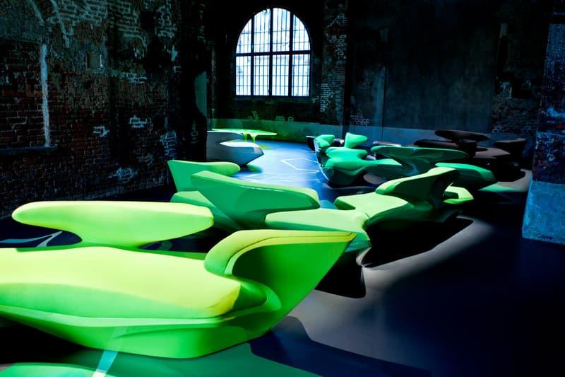 harrods zaha hadid architects design exhibition