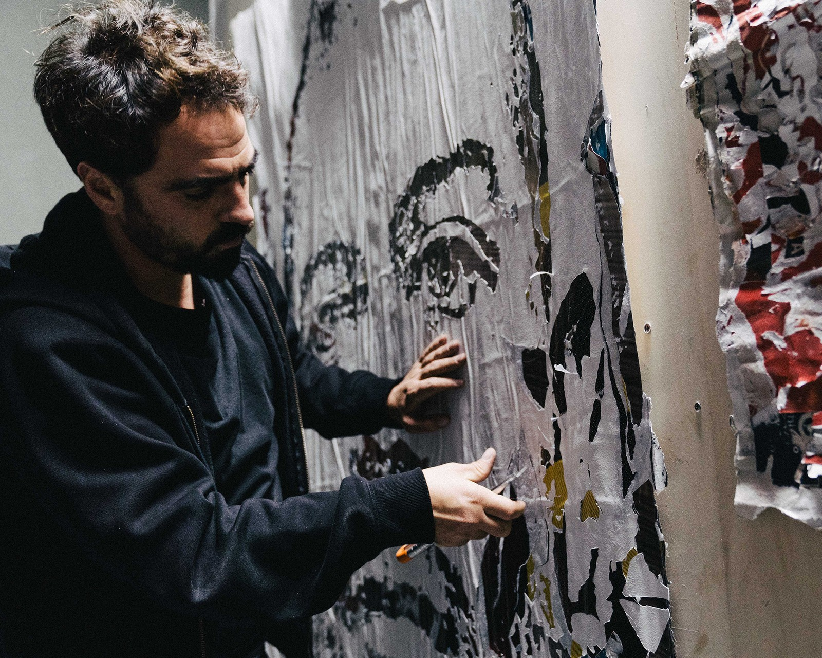 HYPEBEAST Ignition Vhils Issue 28 Interview