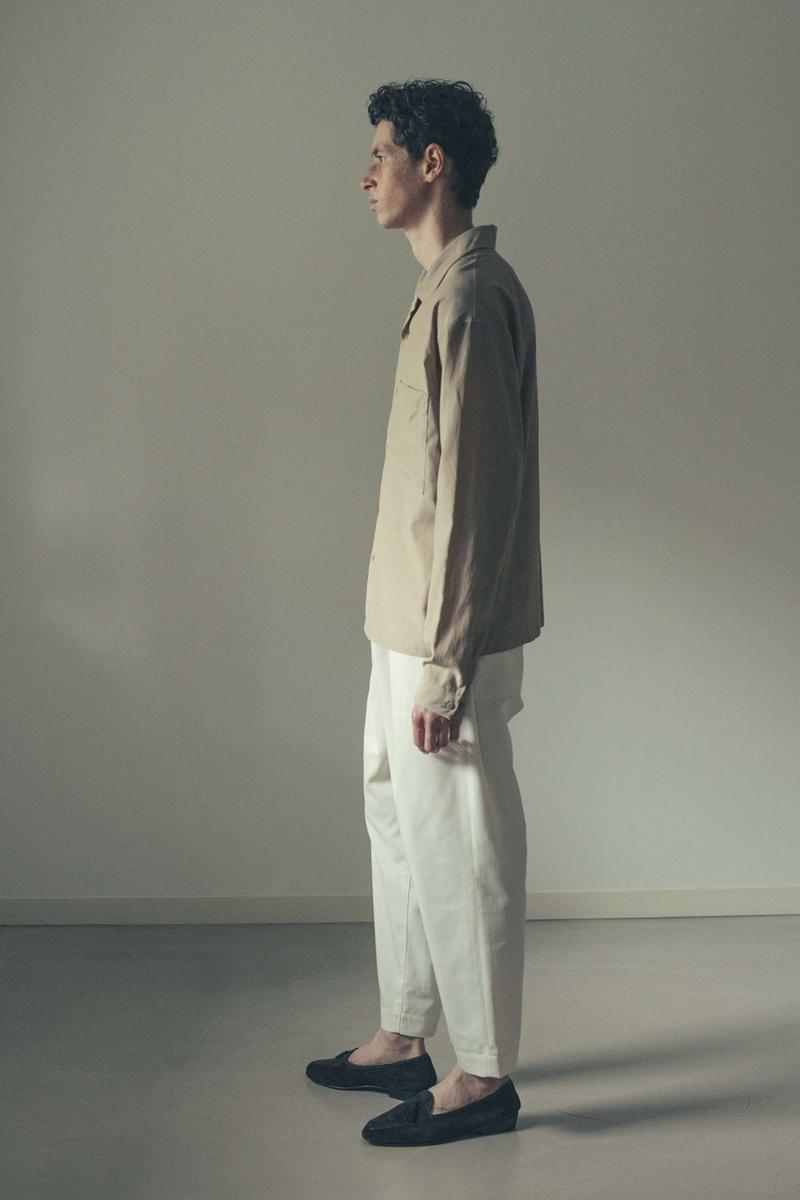 08sircus Spring Summer 2020 Collection lookbook japanese contemporary streetwear fashion coats mac jackets leather trousers bespoke sartorial dress pants shirts button ups