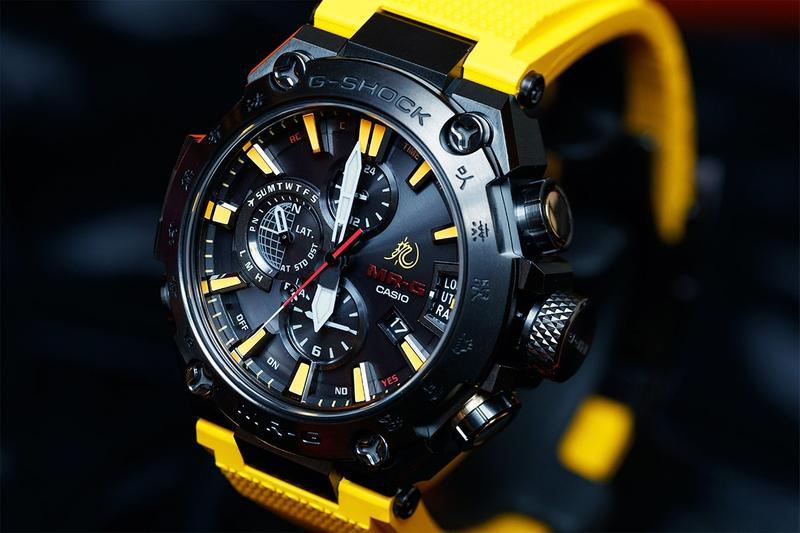 MRGG2000BL9A mr g mrg casio g shock gshock bruce lee watch yellow black red dragon Jeet Kune Do game of death tracksuit