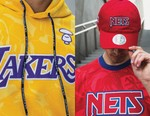 AAPE and Mitchell & Ness Spotlight Six Basketball Teams in NBA Collection
