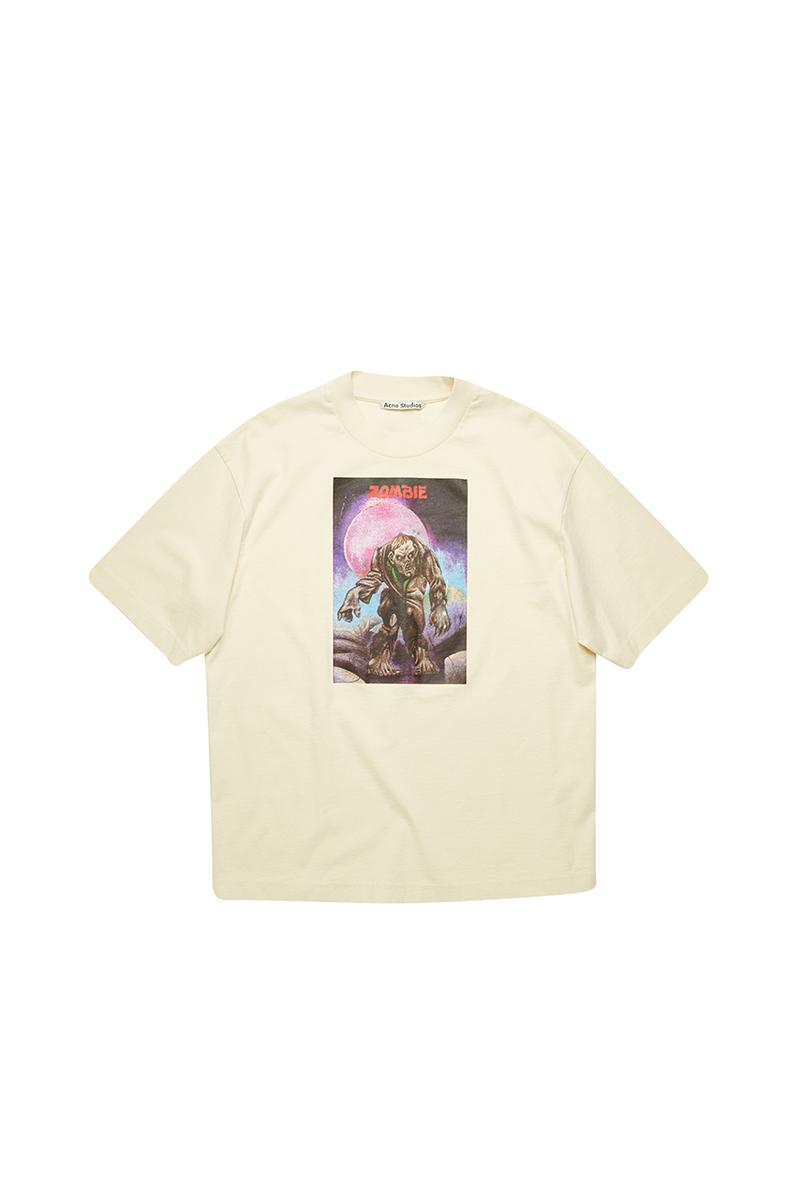 "Acne Studios ""Monster in My Pocket"" Capsule Collection Release Information Drop Joe Morrison John Weems 1990 Artwork  Zombie, Werewolf, Triton Great Beast"