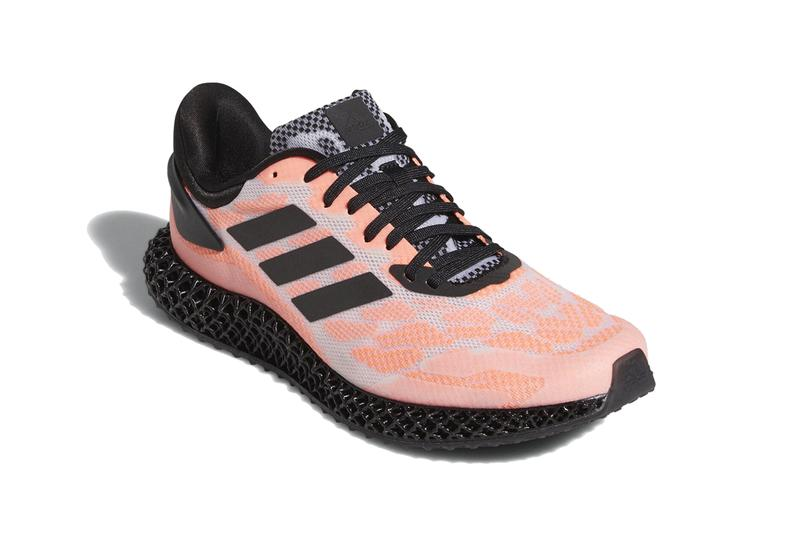 adidas 4d run 1 0 signal coral core black cloud white midsoles fw6839 release date info photos price