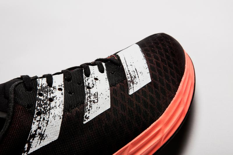 adidas adizero pro marathon running shoe boost lightstrike black white red coral release date info photos price
