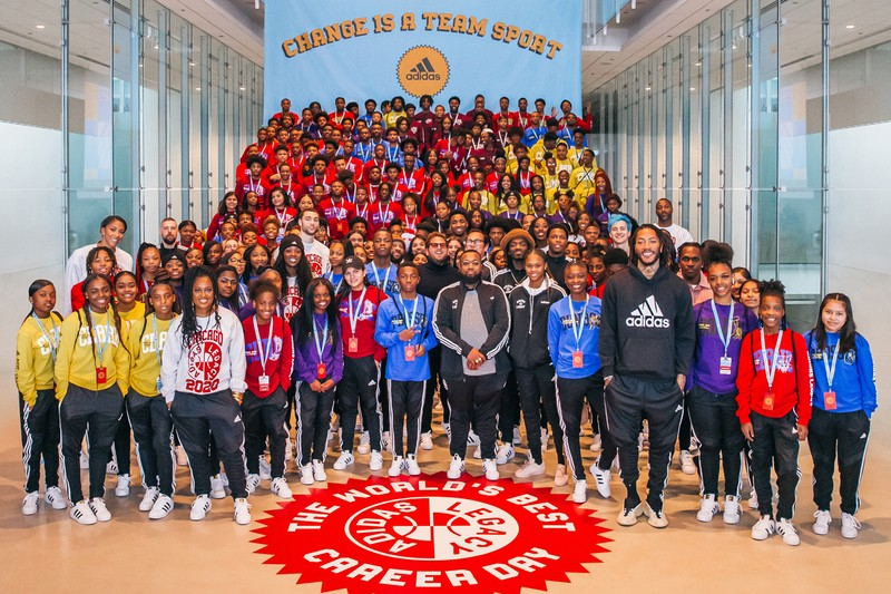 """adidas, Jonah Hill, D-Rose, Pusha T and More Host the """"World's Best Career Day"""""""