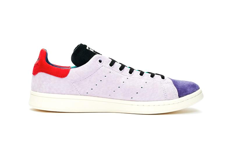 adidas originals recon stan smith vapour pink blue orange green purple red suede release information buy cop purchase Ef4974