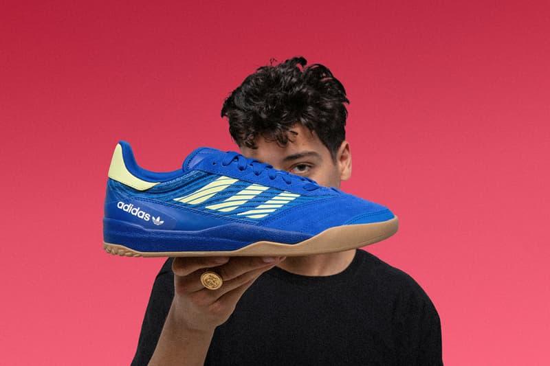 adidas Skateboarding Copa Nationale Heritage Sneaker soccer cloudfoam heel cupsole cup-sole buy drop date info price date release