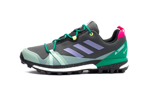 "adidas TERREX Skychaser LT Receives Bold ""Black/Green"" Refresh"