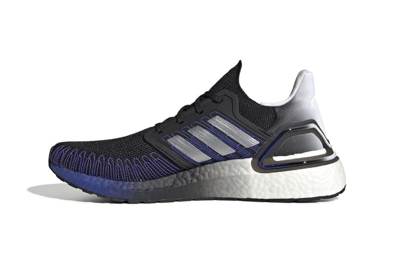 adidas ultraboost buy cop purchase 20 dna release information core black gold metallic silver FV0033 FU9993 anniversary blue purple