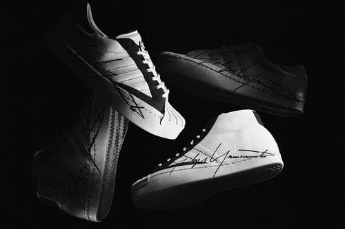 Y-3's Avant-Garde YOHJI STAR & YOHJI PRO Celebrates 50 Years of adidas' Superstar