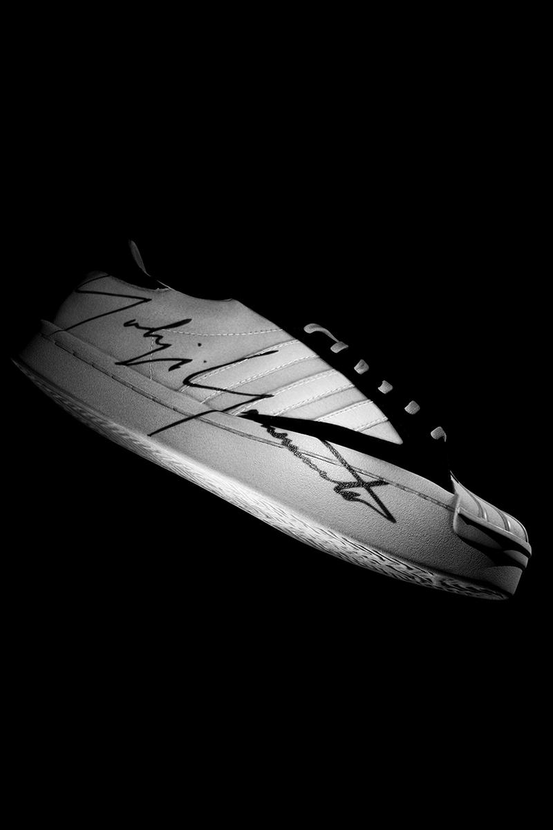 Y-3 YOHJI STAR & Y-3 YOHJI PRO Release Information First Look Yohji Yamamoto adidas Originals Collaboration Three Stripes 50 Year Anniversary Superstar high top low top sneaker drops footwear announcement