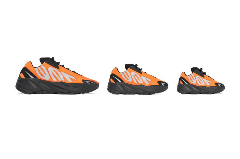 adidas yeezy boost 700 mnvn orange black FV3258 kanye west release date info photos price kanye west