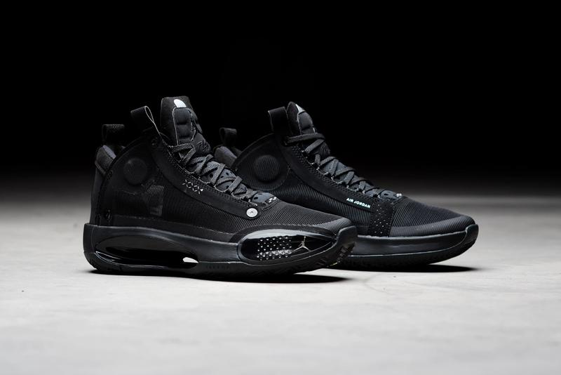 air jordan brand 34 black cat AR3240 003 dark smoke grey release date info photos price