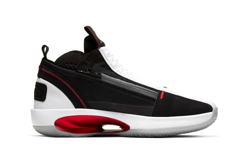 Air Jordan 34 SE Release Official Look cu1548-001 Info Buy Price White Black University Red