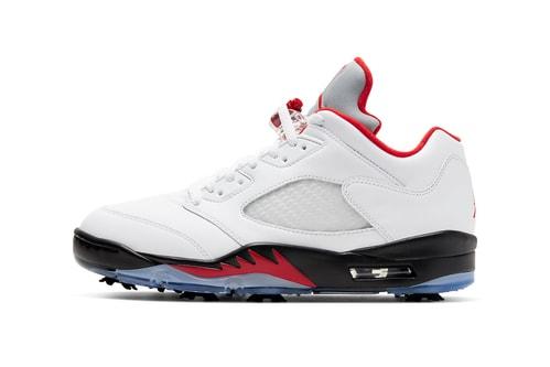 Air Jordan 5 Low Transforms Into a Golf Shoe