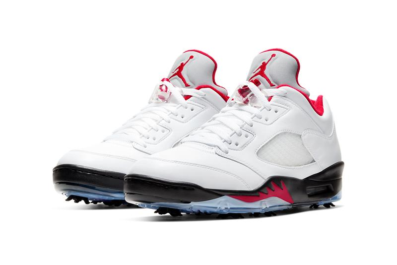 air jordan 5 low golf g white black metallic silver fire red CU4523 100 release date info photos price