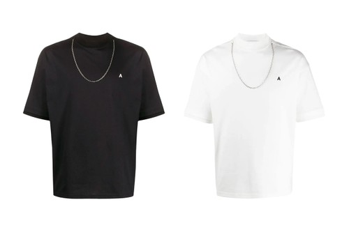 An Accessory Detail Marks AMBUSH's Chain T-Shirt