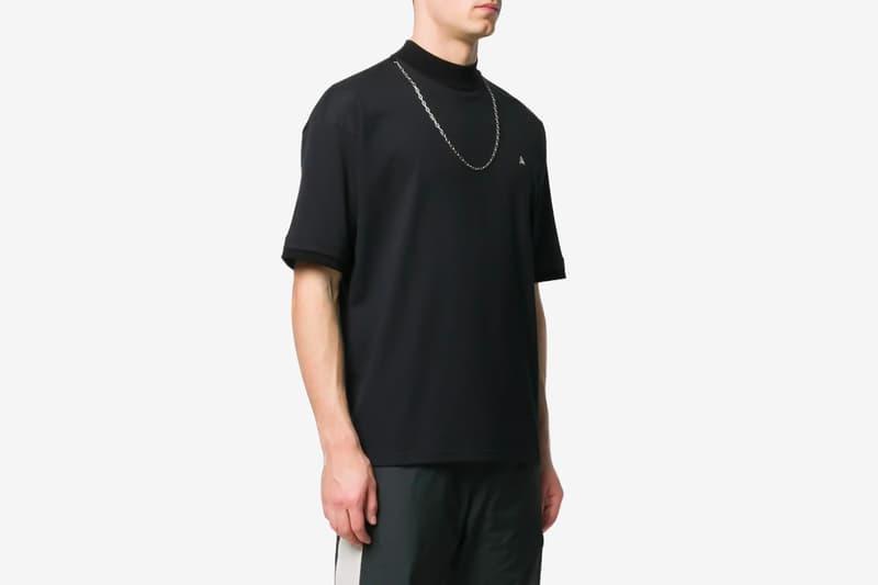 AMBUSH Chain T-Shirt Black White Release Info Buy Price Black White The Webster