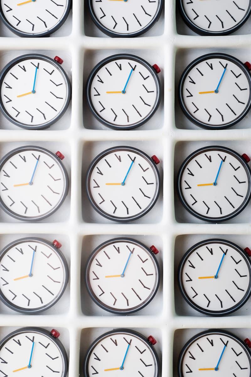 Anicorn Ji Lee Redundant Watch MoMA Design Store Release Primary Colorway Blue Red Yellow