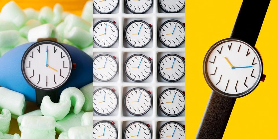 "Anicorn Transforms Ji Lee's 1993 Clock Into Witty ""Redundant Watch"""