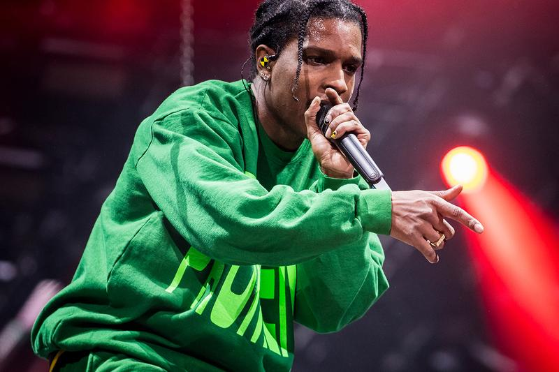 A$AP Rocky AWGE Marine Serre Collaboration Reveal Fall Winter 2020 Info Release