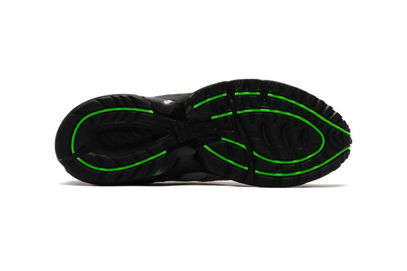 "ASICS GEL-1090 ""Gray/PRSV"" Release Info drop price details black gray green 1021a469-021 green gecko"