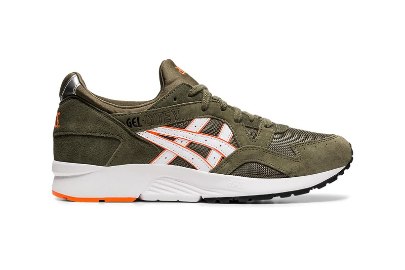 "ASICS GEL-Lyte V Gets Militaristic ""Mantle Green"" Makeover"