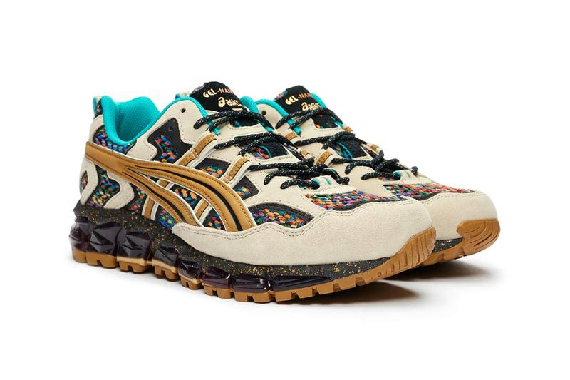 asics gel nandi 360 putty tan presido woven multi color 1021a295 201 release date info photos price