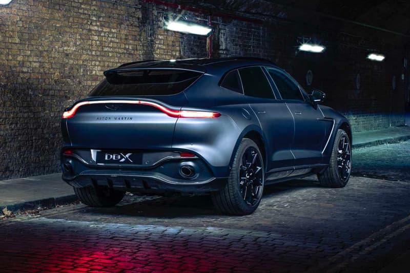 aston martin dbx suv q by customized customization luxury car carbon fiber