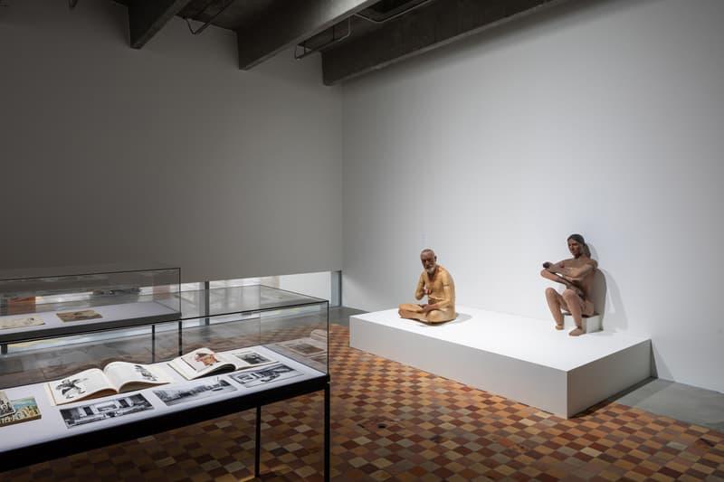 "Atelier E.B. ""Passer-by"" Exhibition Garage Museum of Contemporary Art Lucy McKenzie Beca Lipscombe Fashion Display Mannequins"