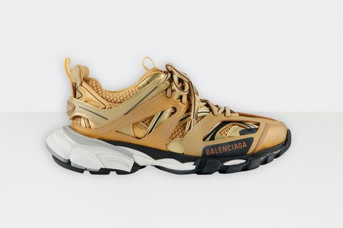 Balenciaga Track.2 Heads For the Podium With Gold Colorway