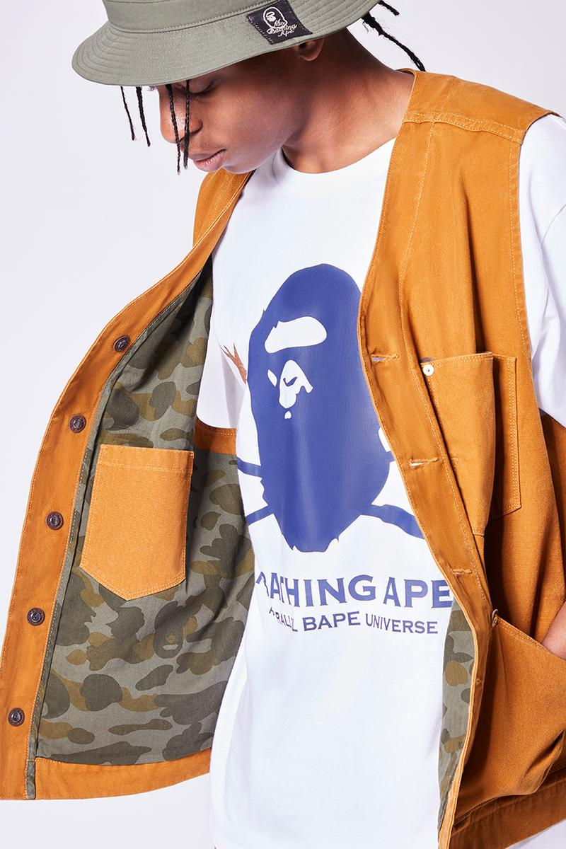 BAPE gold rush denim collection buy cop purchase workwear release information a bathing ape 29th feb mid march hong kong japan worldwide